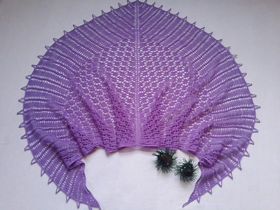 Beauty gift Shawl Knitted shawl Unique gift Gray shawl Wrap