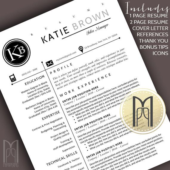 15 best Modern \ Creative RESUME TEMPLATES -- (CUSTOM NAME HEADER - microsoft word references template