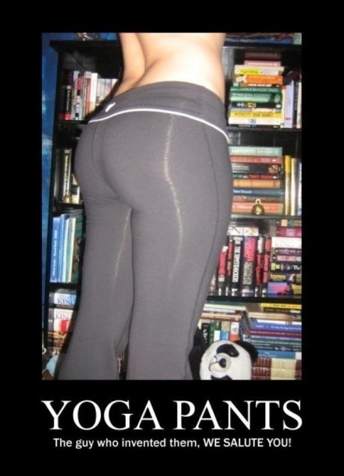 Yoga Pants, sexy legs  http://extrachapter.com/priceless-thank-you-mr-xyz/