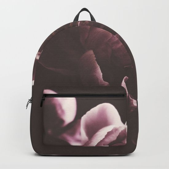 Lovely moody back pack by Herself Designs on Society6🌸 treat yourself, or makes a nice school gift