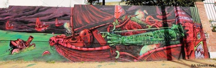 graffiti san isidro buenos aires tekaz bater street art buenosairesstreetart.com