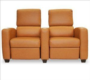 Celebrity Home Theater Lounger (Row Of 4) by Bass