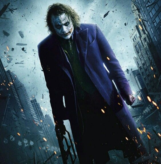 The Dark Knight 2008_ Joker, heath ledger