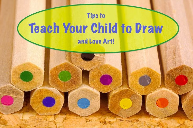 How to Teach Your Child to Draw #art #homeschool @DinkerGiggles