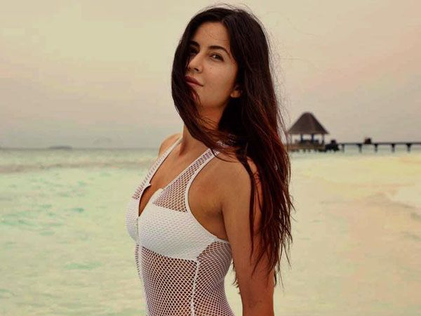Katrina Kaif's white swimsuit look is copied from a Hollywood actress