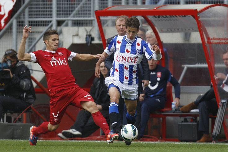 Djuricic in aanval SC Heerenveen