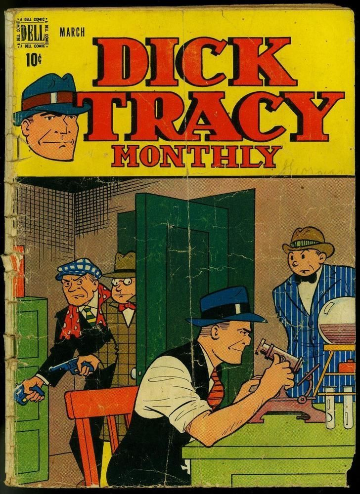 Dick Tracy Monthly, #3, 1948