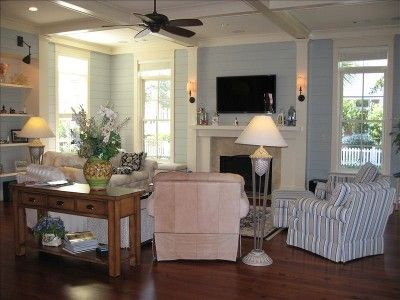 2006 Southern Living Cottage Of The Year Living Room