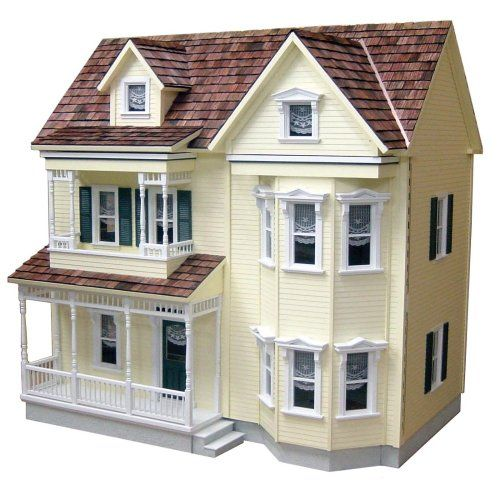 Real Good Toys Front-Opening Country Victorian Dollhouse