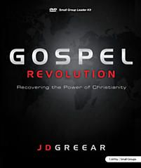 """Though disciplined and intentional in all aspects, only when J.D. """"discovered"""" the gospel of Jesus Christ did everything change. That's why the objective of Gospel Revolution is to help group members abide in Jesus. They will find that when they do, passion, self-control, kindness, patience, and generosity are the natural results. Marriages will change. …being captivated by the love of Christ. (8 sessions)"""
