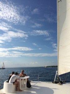 No catamarã: Ilha Saona, República Dominicana Barco