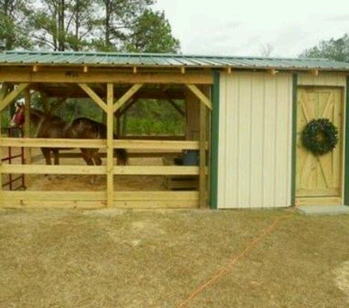 449 best images about horse barn on pinterest for 2 stall horse barn