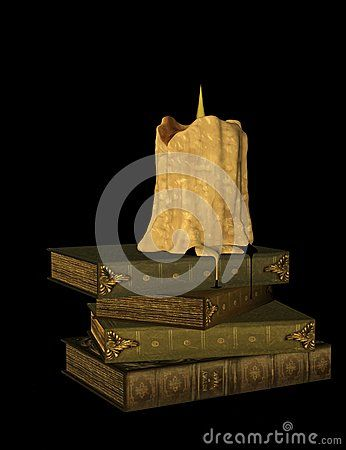 Burning Candle And Books - Download From Over 34 Million High Quality Stock Photos, Images, Vectors. Sign up for FREE today. Image: 57281046