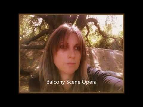 The Balcony scene music for a Ballet Opera by Suzanne Wade