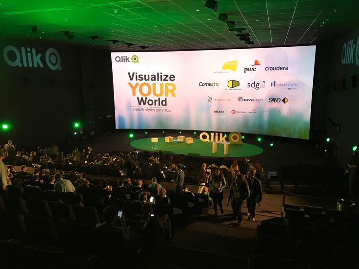 Evento Qlik Kinepolis Madrid