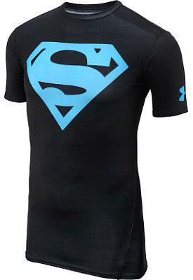 UNDER ARMOUR Men's Alter Ego Superman Short-Sleeve Compression T-Shirt - SportsAuthority.com
