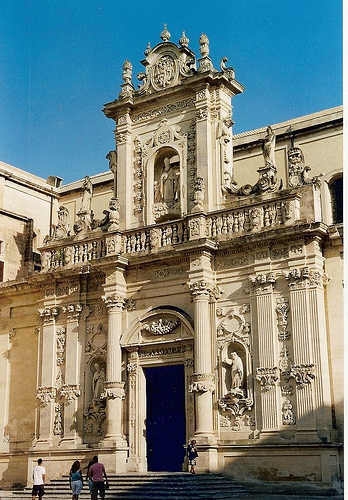 Lecce - Il Duomo - where I was born!