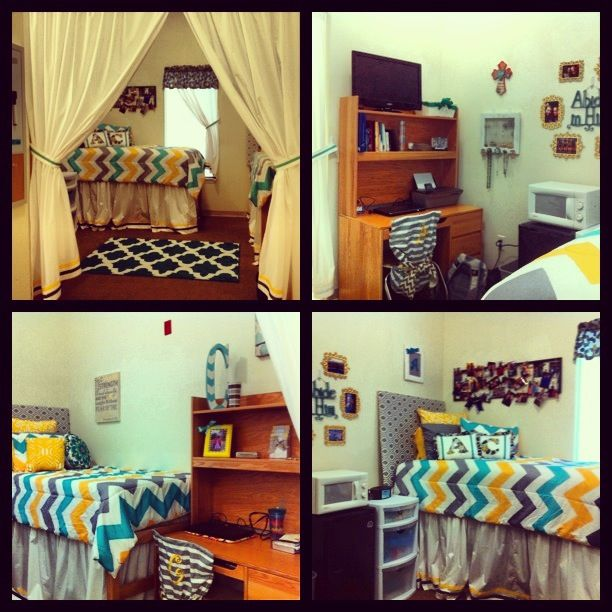 Decorating Ideas > Home Sweet Dorm! Love The Curtain Divider Idea  Dorm Room  ~ 123645_Dorm Room Curtain Ideas