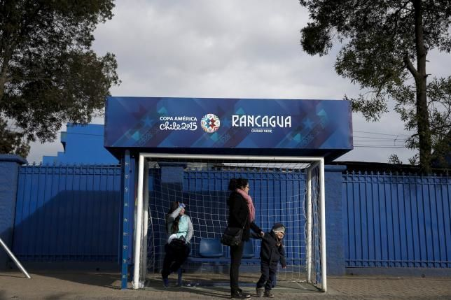 Copa America Turns Bus Stops into Goal-Shaped Football Ads #ads trendhunter.com