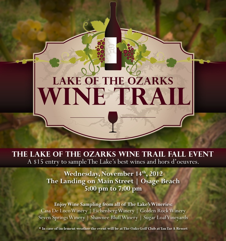 New vintage wine trail
