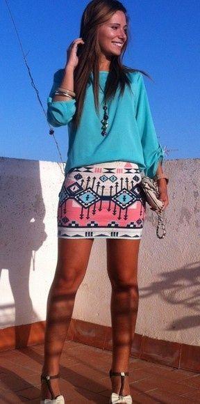 Skirt tribal  [ Waterbabiesbikini.com ] #fashion #bikini #elegance
