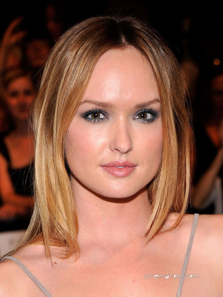Kaylee Defer - auburn hair with blonde highlights