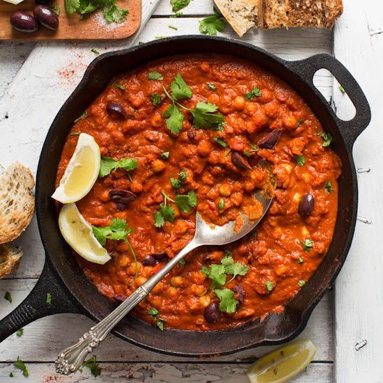 1-Pot Chickpea Shakshuka   Minimalist Baker Recipes