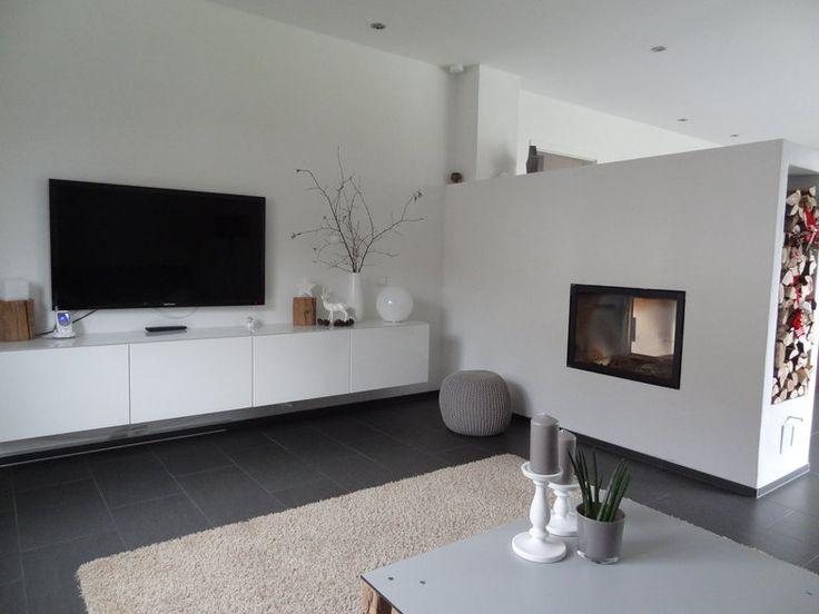 Die besten 25+ Kamin wohnzimmer Ideen auf Pinterest | gemauerten ...