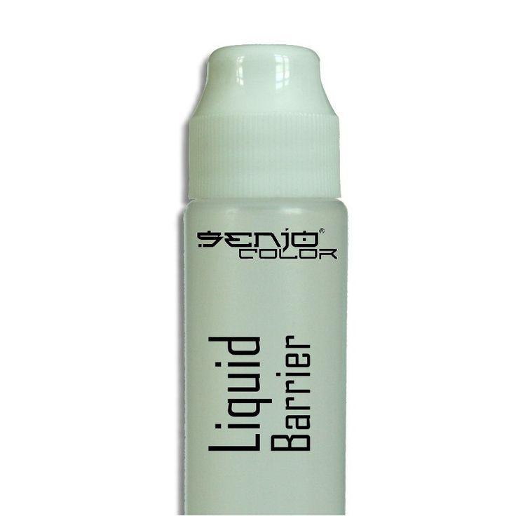 Liquid Barrier mit Applicator für MakeUp Effekte als Basis, oder Finish