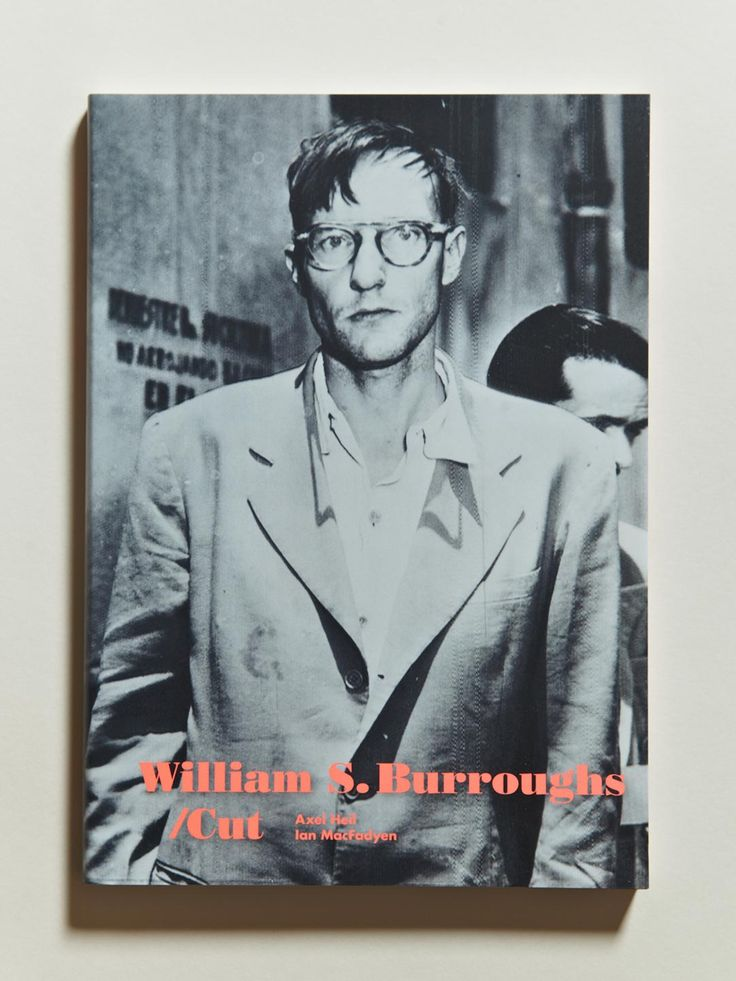 William S. Burroughs: Cut / Macfay, Heil, Breger, and Wessendorf (Walther Koenig, 2013) Published to accompany the exhibition 'The Name is Burroughs' at ZKM, Hamburg. This book presents a wide selection of the artistic output of the writer William S. Burroughs, and shows works that he created during the 1960s with Brion Gysin, Ian Sommerville, and Anthony Balch under the name of 'The Third Mind' as well as 'Collaborations' with other artists such as John Giorno and George Condo.