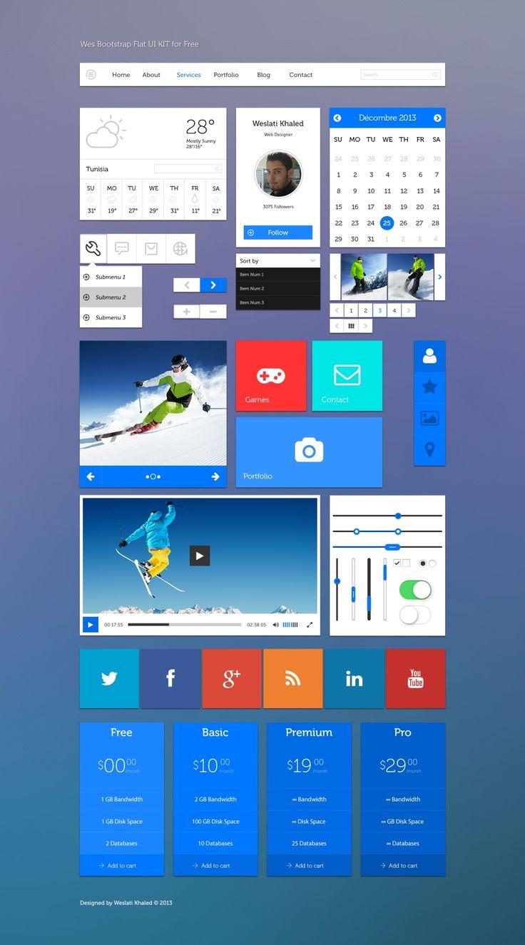 60 best Bootstrap images on Pinterest | Design websites, Site design ...