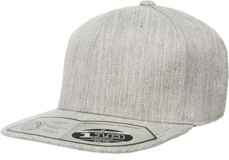 Buy this Flexfit 110F Heather Grey One Ten Snapback! Go get it now only at www.TheCapGuys.com. Adjustable + Flexfit Technology. Classic shape. Matching plastic snap & undervisor. Hard buckram. Moisture-absorbent elastic sweatband. Premium wool blend. #flexfit #snapback #grey #oneten #110F #logo #hat #cap #heathergrey #fashion #swag #me #style # #tagsforlikes #me #swagger #jacket #shirt #dope #fresh #swagger