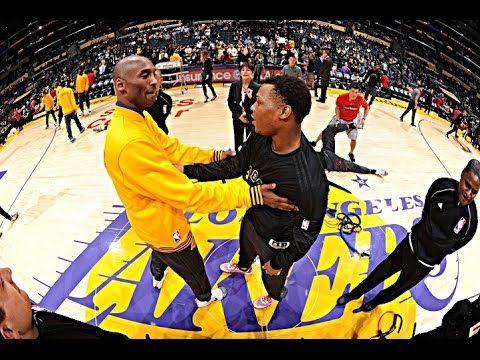 Kobe Bryant 10 Points vs Toronto Raptors | 2015-16 Season