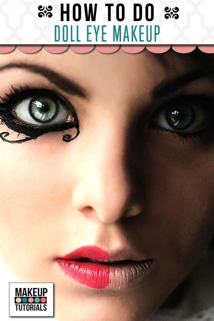 Were you trying how to do doll eyes makeup? Are you one of those that love to do the doll eye makeup? Then check this easy diy doll eye makeup!