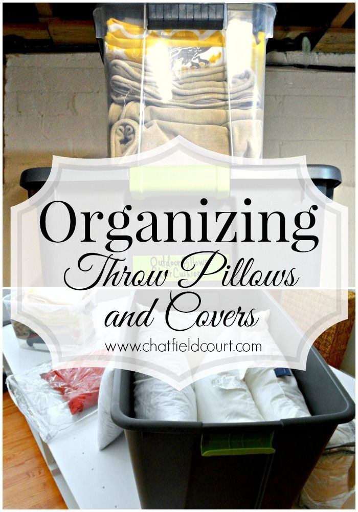 Organizing Throw Pillows And Covers Throw Pillows Throw