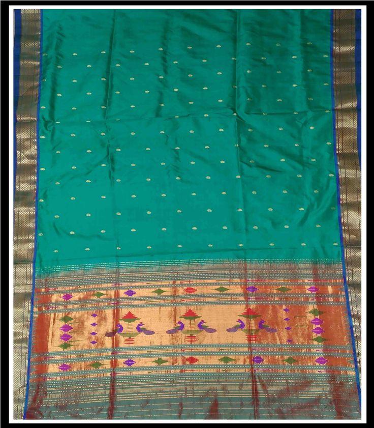 Single Pallu Paithani saree - KP0520165