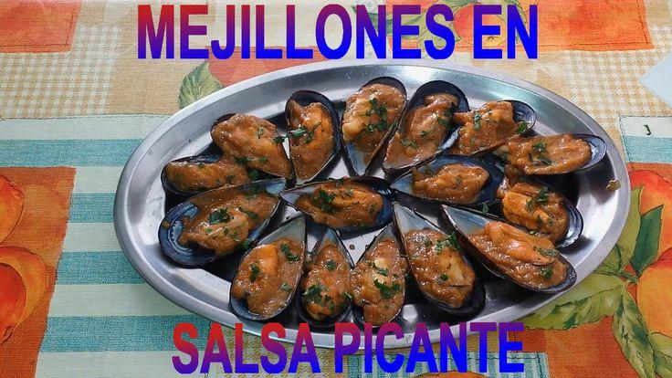 MEJILLONES EN SALSA CON UN TOQUE PICANTE