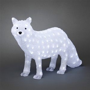Konstsmide 6183-203 Acrylic Christmas LED Polar Fox