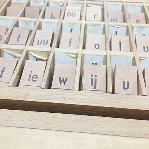 #Creative with #letters #quotes, www.vanonzetafel.nl