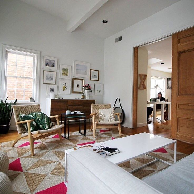 Tour An Office In A Historic Georgetown Home Click Link Above Our Profile White OfficeLiving Room