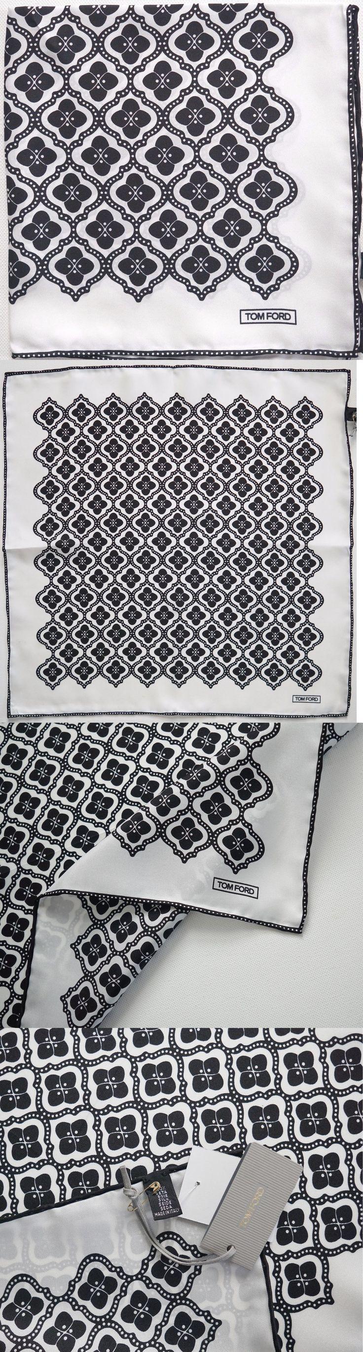 Handkerchiefs 167902: $165 Nwt Authentic Tom Ford 100% Silk Pocket Square Pochette Handkerchief -> BUY IT NOW ONLY: $65 on eBay!