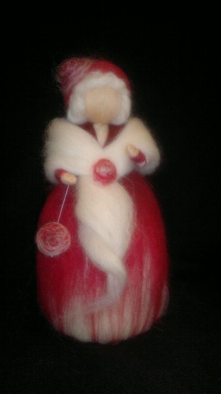 Winter Wool Fairy, Seasonal Table, Waldorf inspired