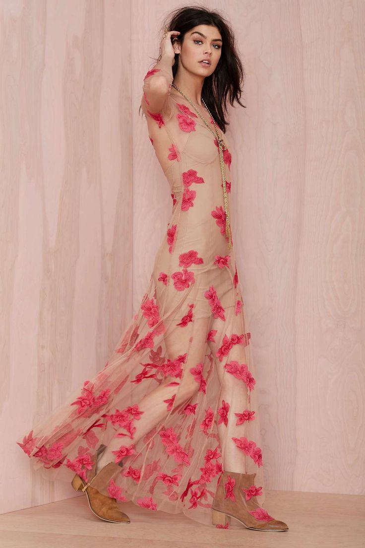 Evangeline Embroidered Dress   pretty!!!!!