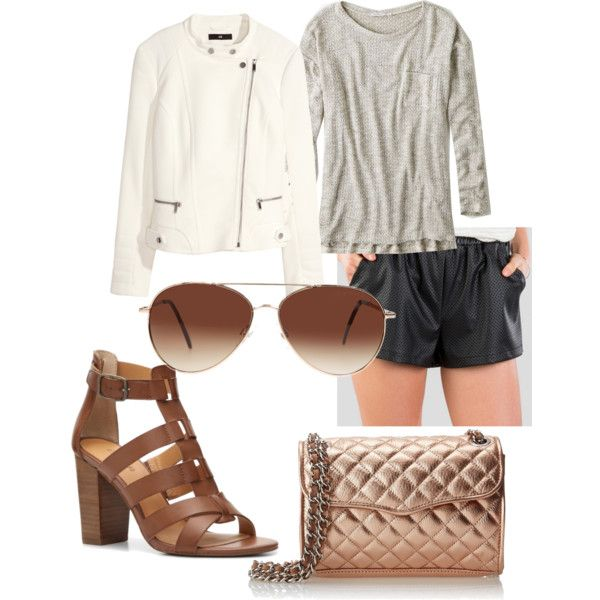 Untitled #188 by serdarsa on Polyvore featuring American Eagle Outfitters, H&M, Rebecca Minkoff and Eloquii
