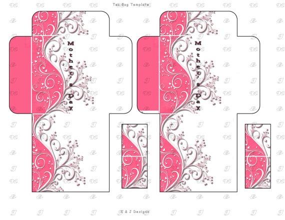 226 best tea bag printables images on pinterest envelopes printables and free printable. Black Bedroom Furniture Sets. Home Design Ideas