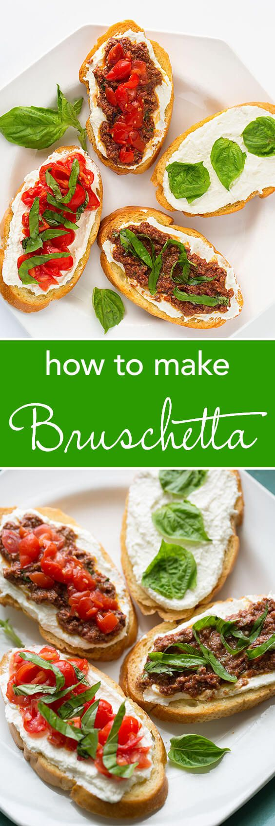 We show you how to make Bruschetta. Easy and delicious! simplyhappyfoodie.com