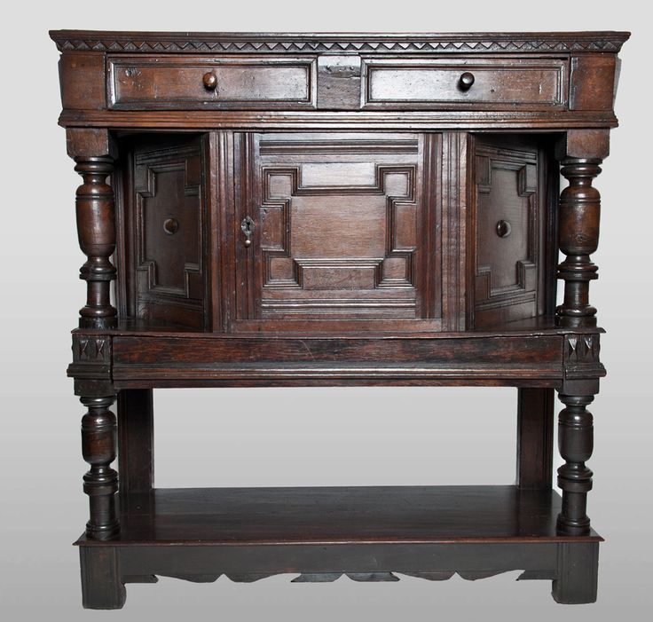 17th century canted buffet, Marhamchurch antiques - 97 Best Marhamchurch Antiques Cupboards Images On Pinterest