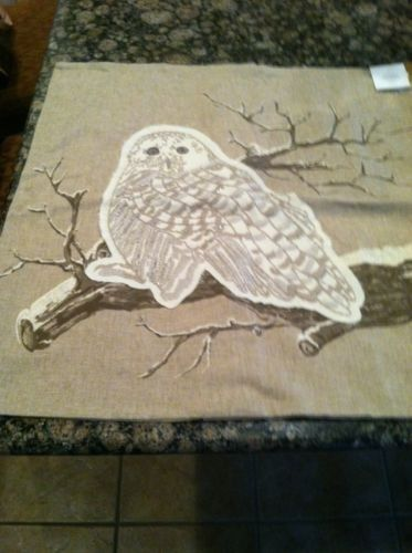 Pottery-Barn-Vintage-Owl-sofa-chair-bed-Pillow-Cover-Taupe-Beige-Winter-24x24