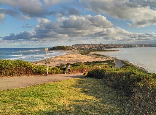 Newcastle from Nobby's