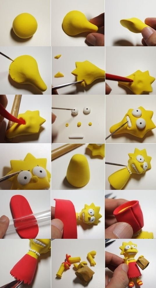 Sugar Modelling Tutorial - Lisa from Simpsons